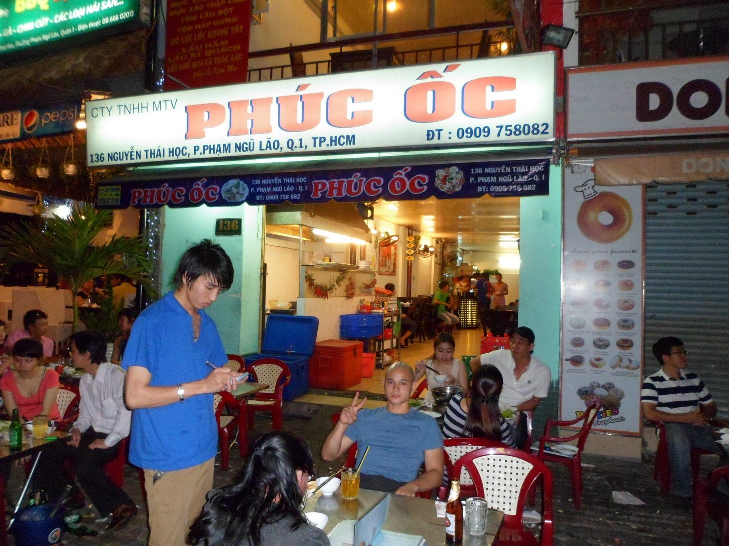 Seafood Orgy In The Streets Of Ho Chi Minh Spicegasm Com