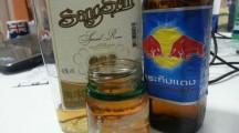 Sangsom the famous Thai whiskey